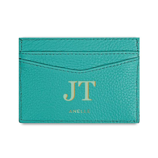 Card Case Aqua Blue
