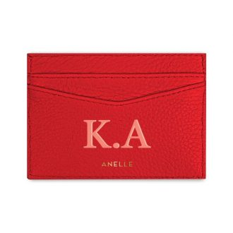 Card Case Red Poppy