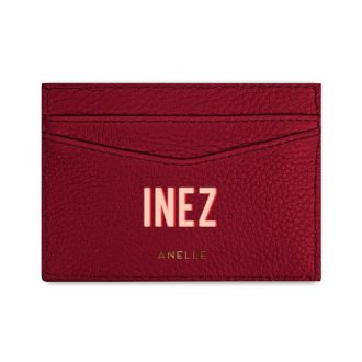 Card Case Red Ruby